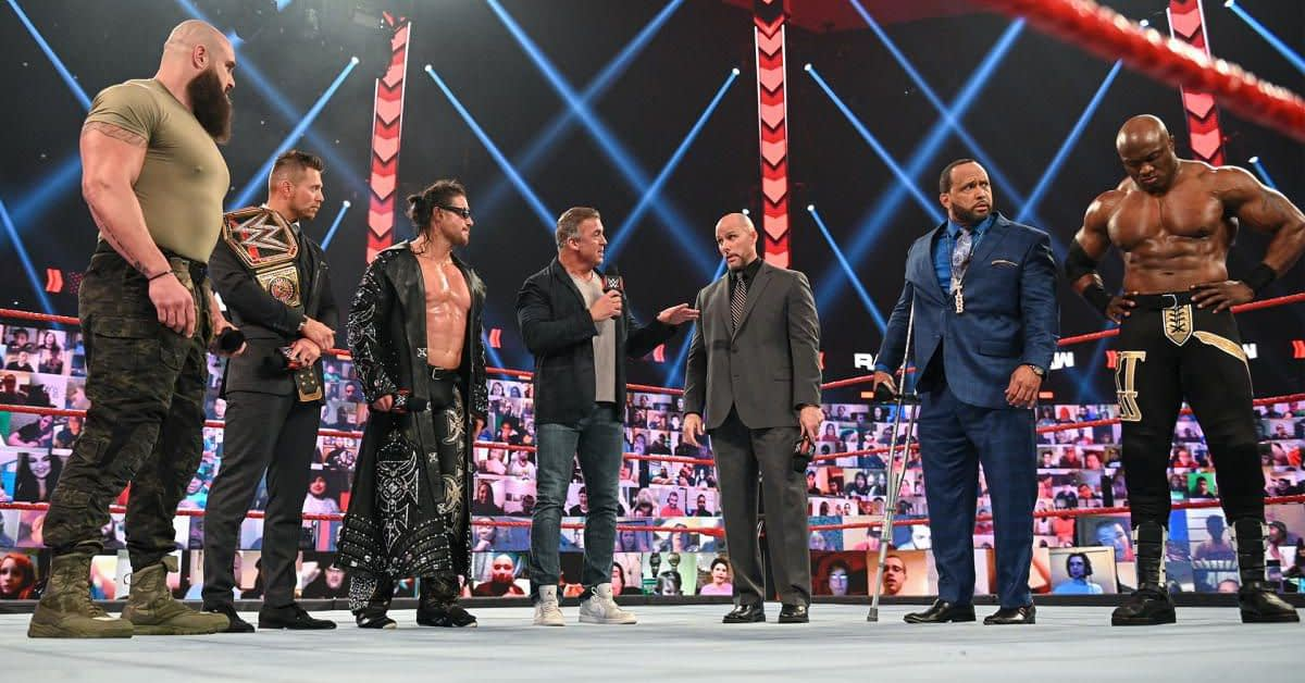 WWE Raw results, recap, reactions (Feb. 22, 2021): Bait and switch - Cageside Seats