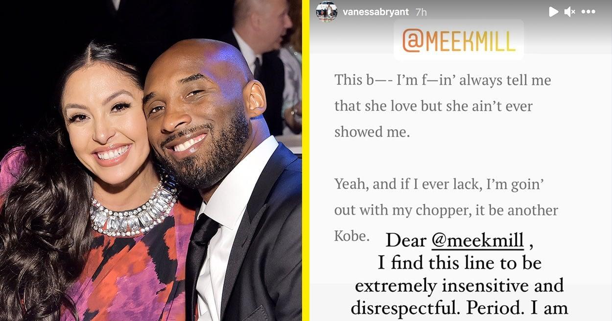 "Vanessa Bryant Addressed Meek Mills ""Insensitive And Disrespectful"" Lyrics About Kobe Bryants Death - BuzzFeed News"